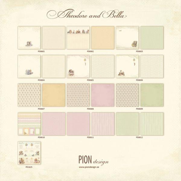 Pion Design Theodore & Bella Complete Collection