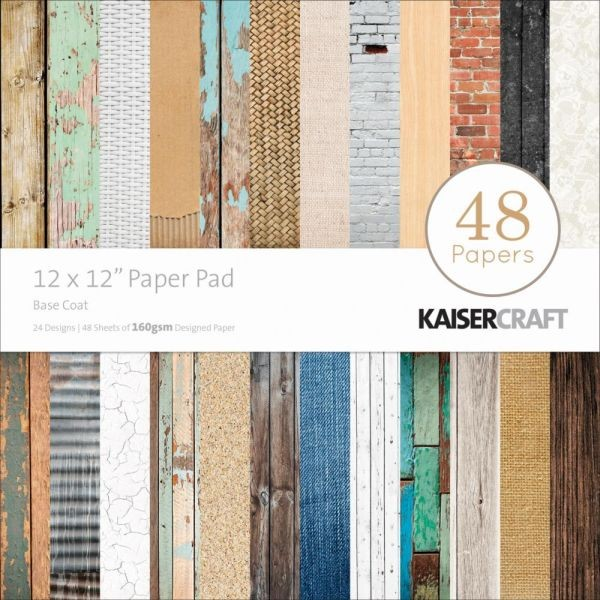 Kaisercraft Paperpad 12x12 Base Coat