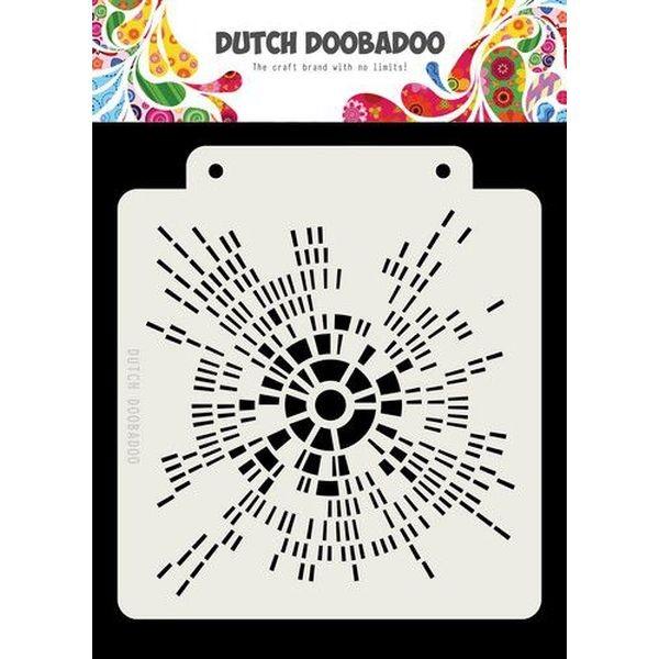 Dutch Doobadoo Mask Stencil 6x6 Kialo
