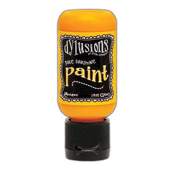 Dylusions Flip Cap Paint Pure Sunshine