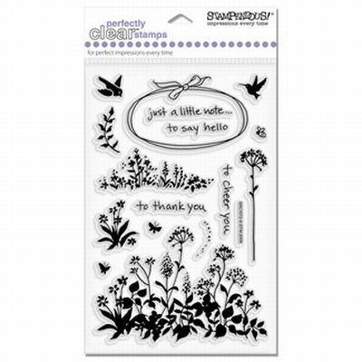 Stampendous Wildflower Sprig