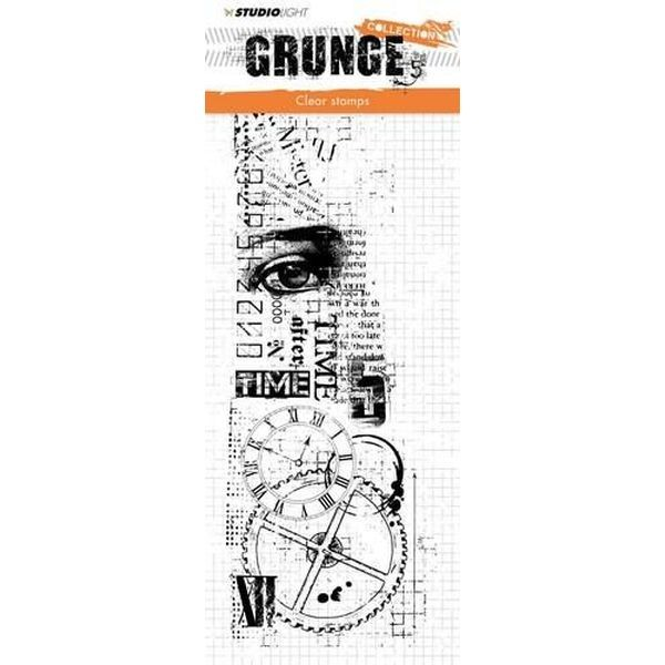 Studio Light Clearstamps Grunge Collection No. 336