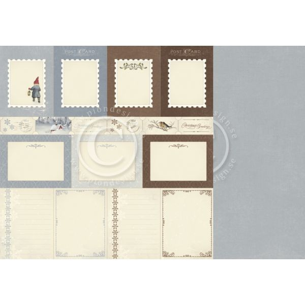 Pion Design Greetings from the North Pole Memory Notes