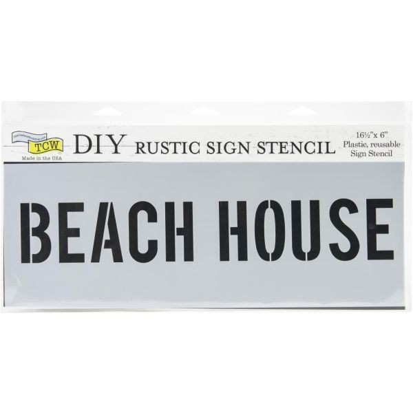 TCW Template Rustic Sign Beach House