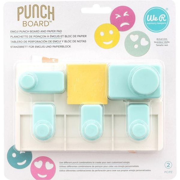 WeR Memory Keepers Emoji Punch Board