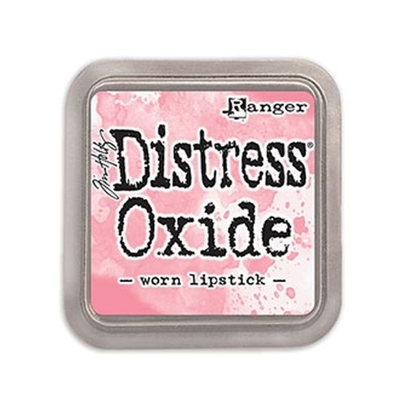 Tim Holtz Distress Oxide Pad Worn Lipstick