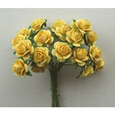 Roses Pale Yellow 1,5 cm