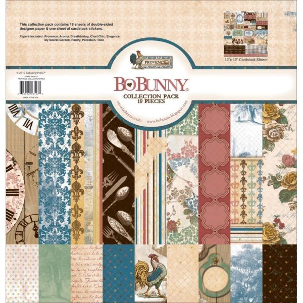 BoBunny Press Provence Collection Pack
