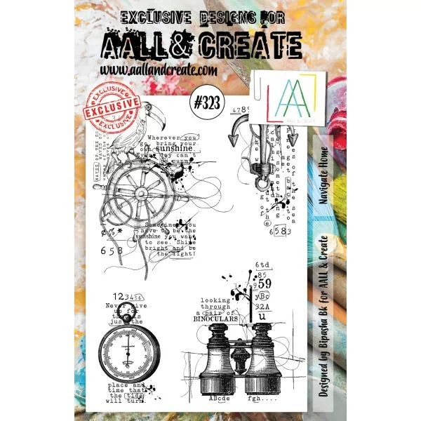 AALL & Create Clearstamps A5 No. 323 Navigate Home