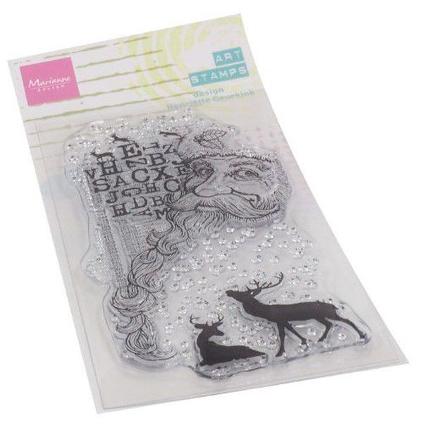 Marianne D Art Clearstamps Santa