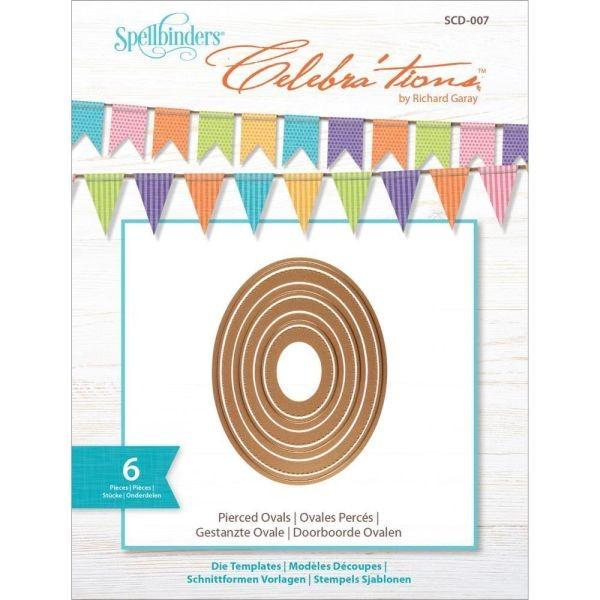 Spellbinders Celebrations Pierced Ovals