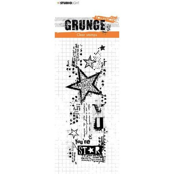 Studio Light Clearstamps Grunge Collection No. 411
