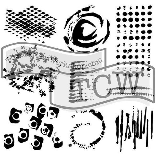 TCW Template 6x6 by Ronda Palazzari Impressions
