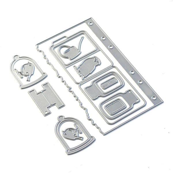 Elisabeth Craft Designs Sidekick Essentials 17 Window Folder Set