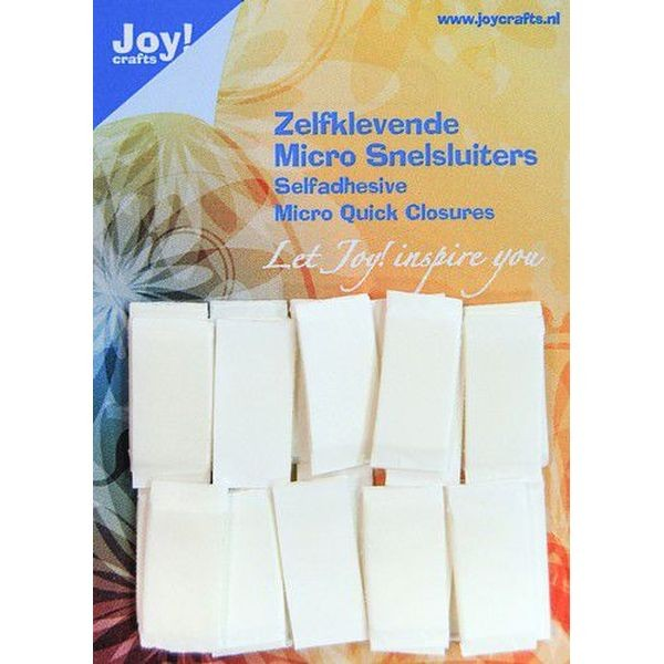 Joy! Crafts Self Adhesive Micro Quick Closures