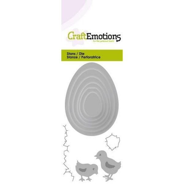 Craft Emotions Dies Eggs with Chicks