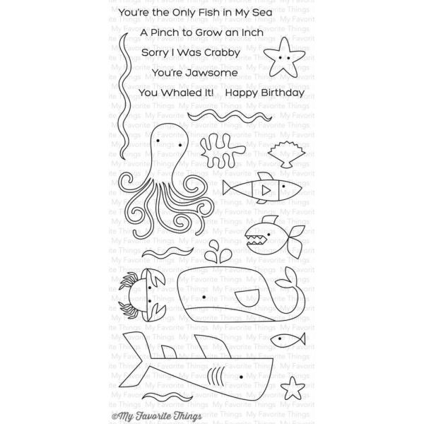 MFT Bundle Clearstamps & Dies Ocean Pals