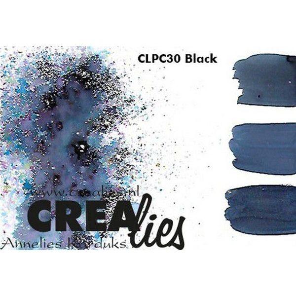 Crealies Pigment Colorzz Black