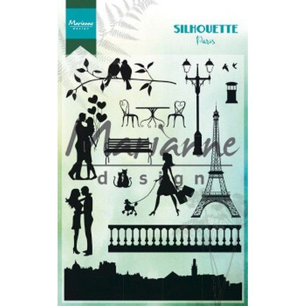 Marianne D Clearstamps Silhouette Paris