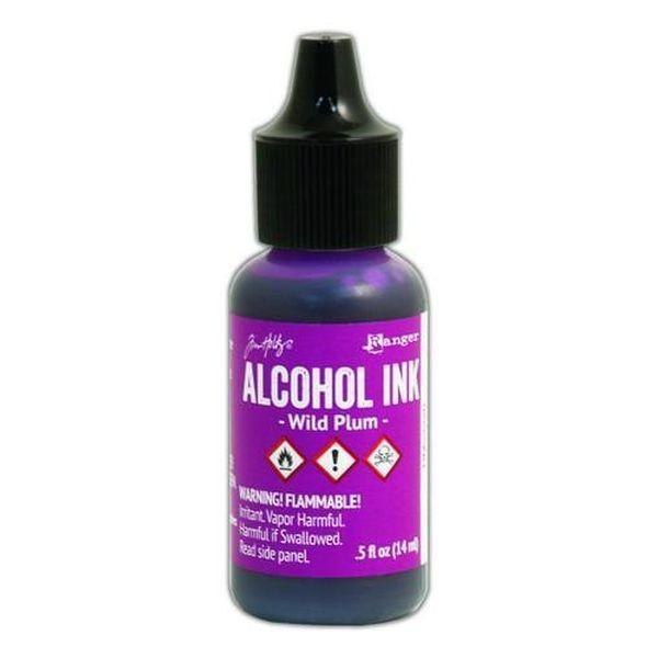 Tim Holtz Alcohol Ink Wild Plum