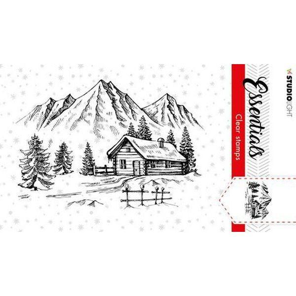 Studio Light Christmas Essentials Clearstamps A7 No. 89
