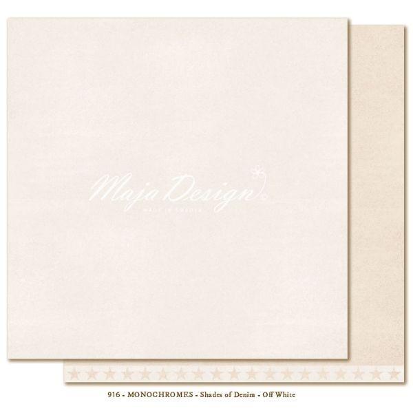 Maja Design Monochromes Shades of Denim Off White