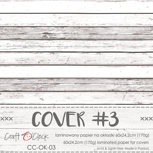 Craft o´Clock Specially Coated Paper Cover No. 03