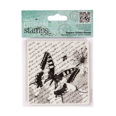 Papermania Beautiful Clingstamps Entomologist