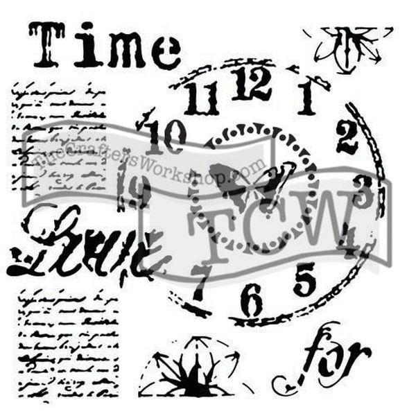 TCW Template 6x6 by Rebekah Meier Time for Love