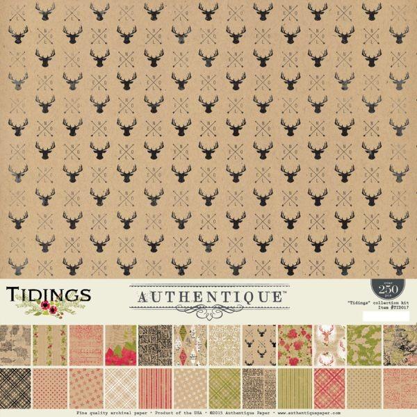 Authentique Tidings Collection Kit 12x12