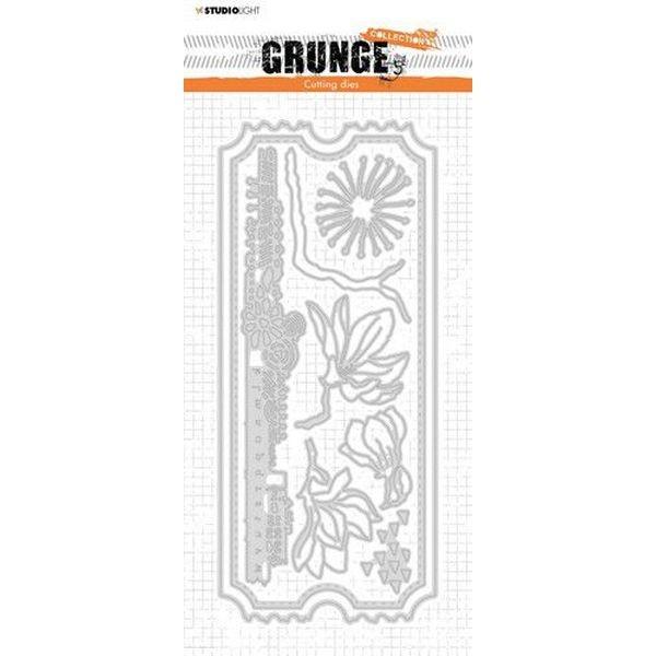 Studio Light Cutting & Emboss Die Grunge Collection Slimline No. 26