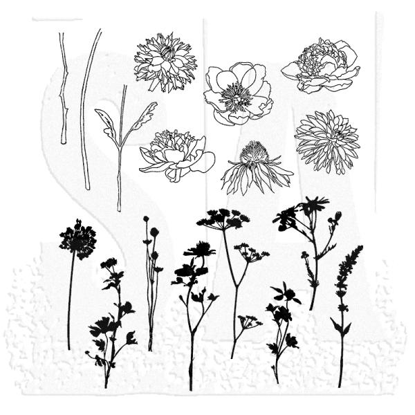 Tim Holtz Mini Bouquet