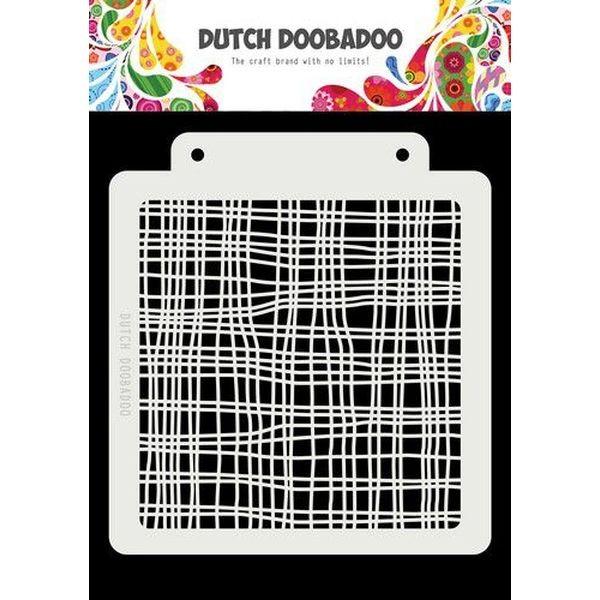 Dutch Doobadoo Mask Stencil 6x6 Linen