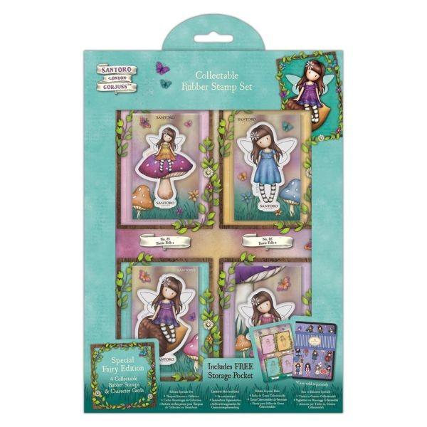 Gorjuss Collectable Stamp Set Fairy Folk