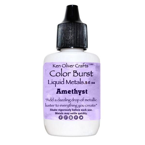 Ken Oliver Crafts Color Burst Liquid Metals Amethyst