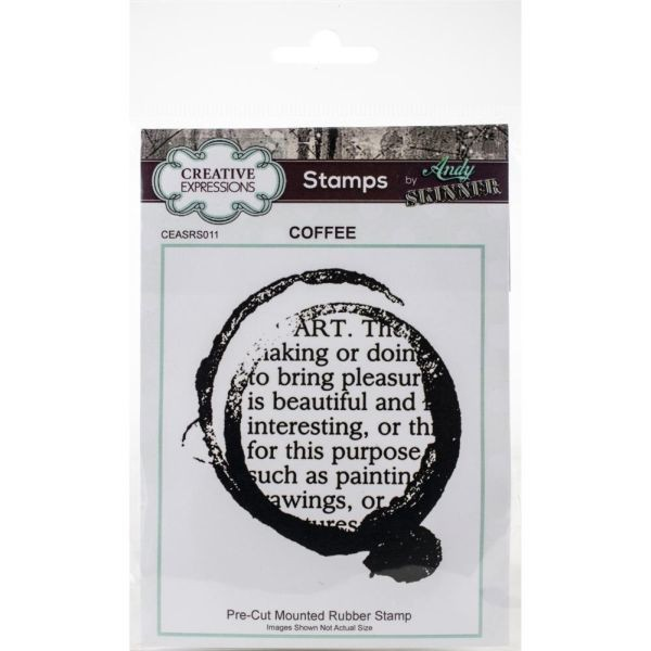 Andy Skinner Rubberstamp Coffee Art