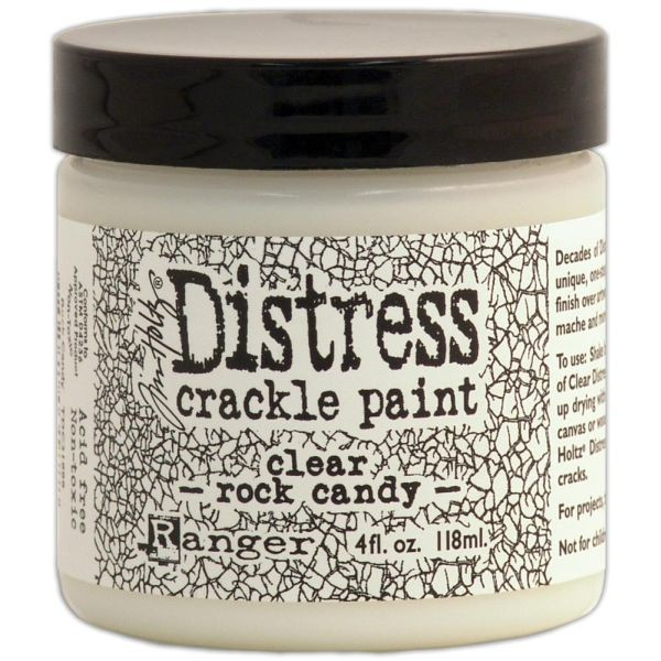Tim Holtz Distress Crackle Paint Clear Rock Candy