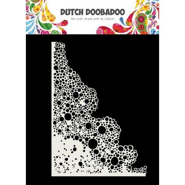 Dutch Doobadoo Mask Stencil A5 Soap Bubbles