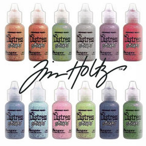 Tim Holtz Distress Stickles Glitter Glue Grab Bag