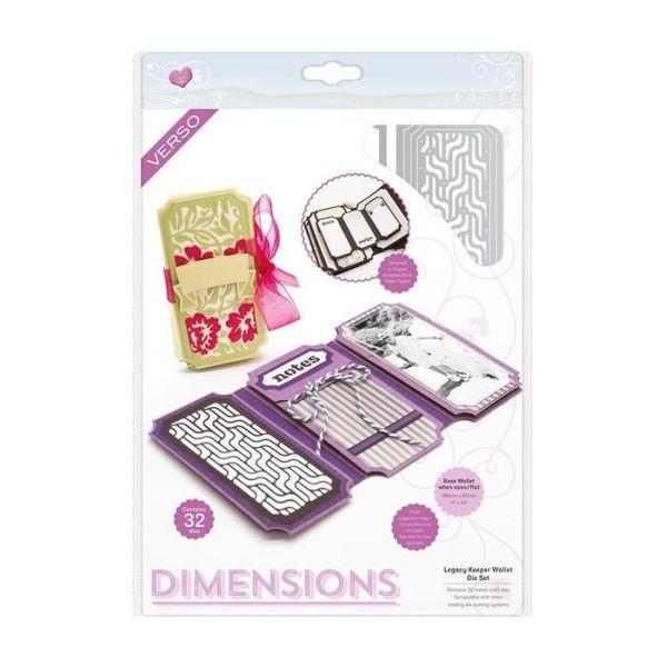 Tonic Studios Die Dimensions Legacy Keeper Wallet