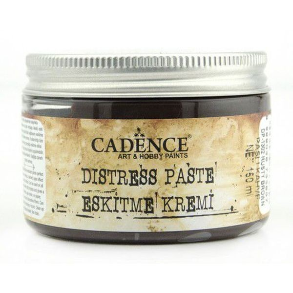 Cadence Art & Hobby Paints Distress Paste Rusty Brown