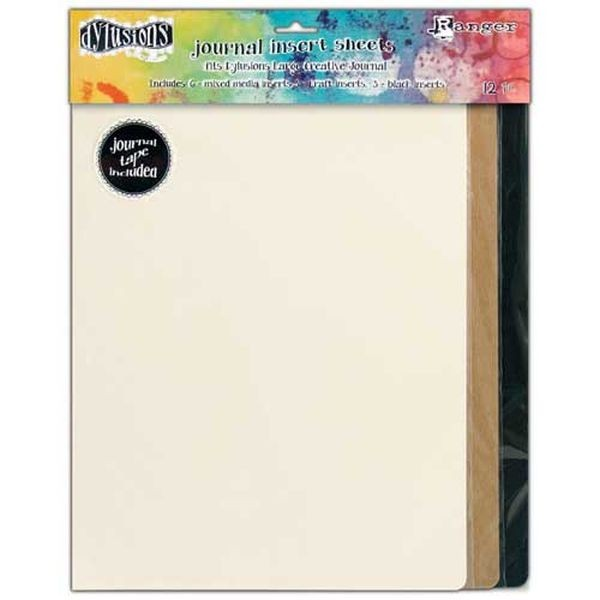 Dylusions Journal Insert Sheets Assortment Large
