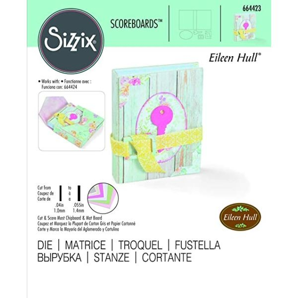 Sizzix ScoreBoards Tiny Book