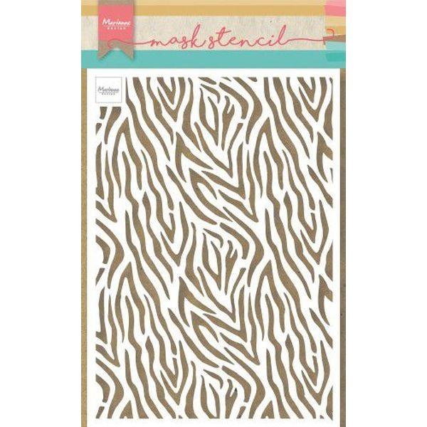 Marianne D Mask Stencil Zebra