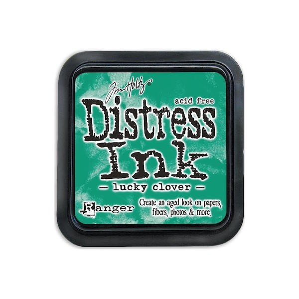 Distress Ink Mini Pad Lucky Clover