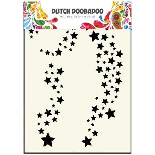 Dutch Doobadoo Mini Mask Stencil Stars