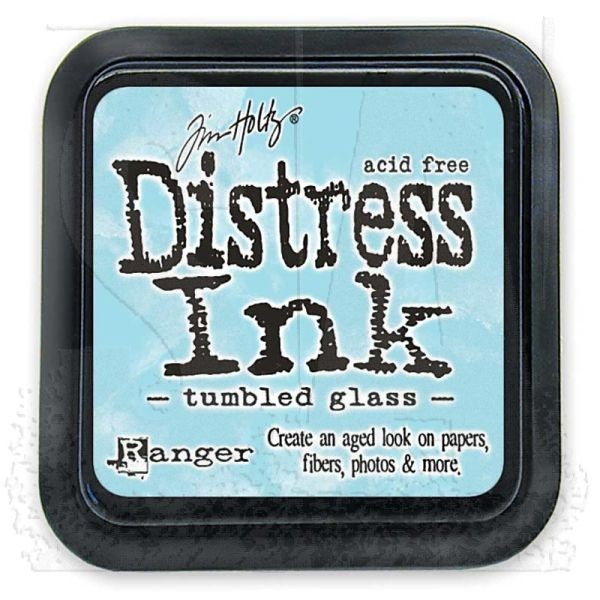 Distress Ink Mini Pad Tumbled Glass