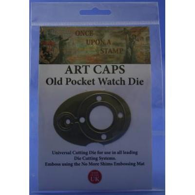 Art Caps Die Old Pocket Watch