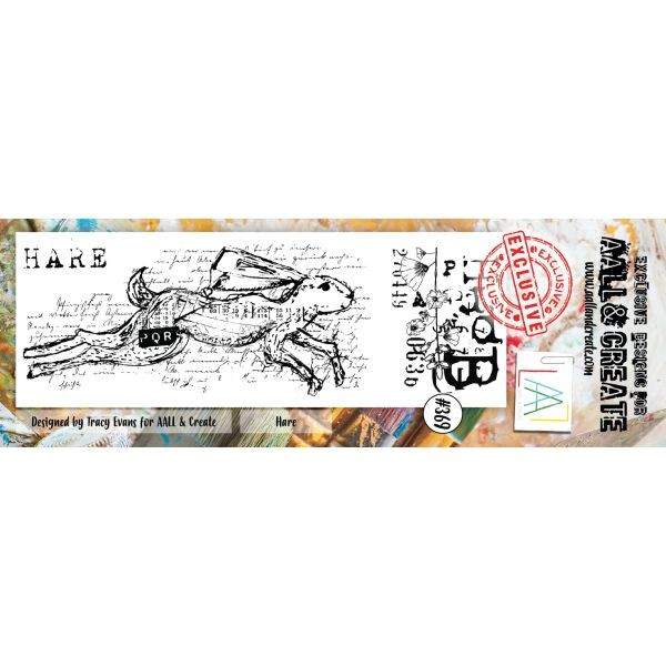 AALL & Create Border Clearstamps No. 369 Hare