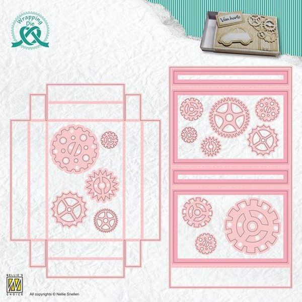 Nellie´s Choice Wrapping Dies - Giftcard Box